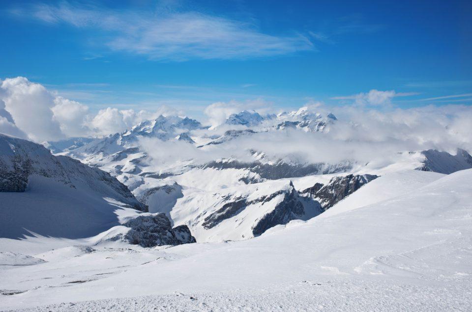 Vorab Gletscherin huipulla