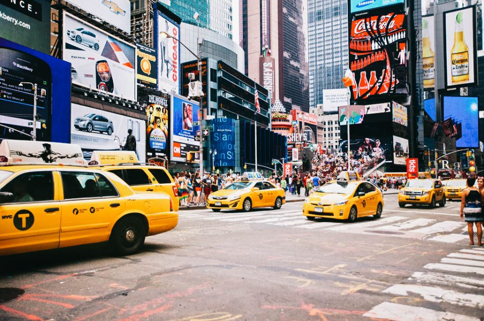 Elokuvahistorian Times Square   New York