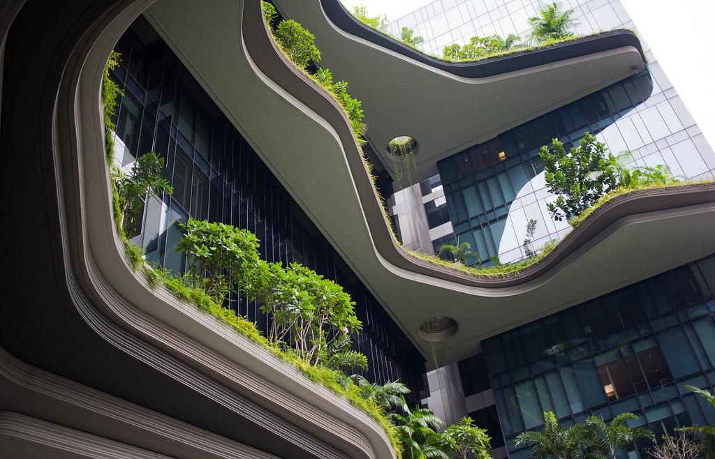 PARKROYAL on Pickering - Singaporen upea ekohotelli