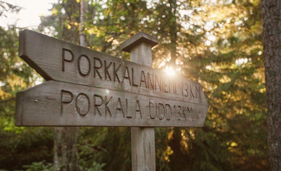 Kesäpäivä Porkkalanniemen kallioilla