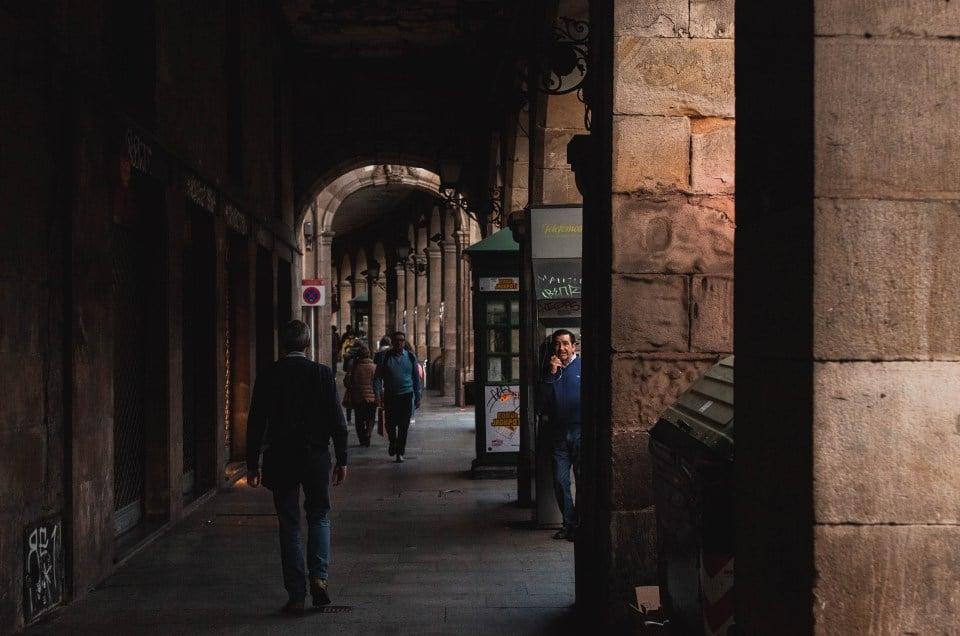 Aallonharjalla Baskimaan Bilbaossa