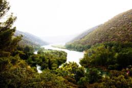 Entinen Jugoslavia, Krkan kansallispuisto Kroatiassa.