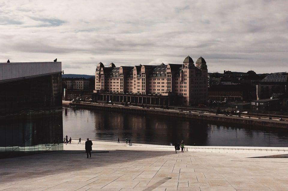 Onnelliset Oslossa – ja syömässä