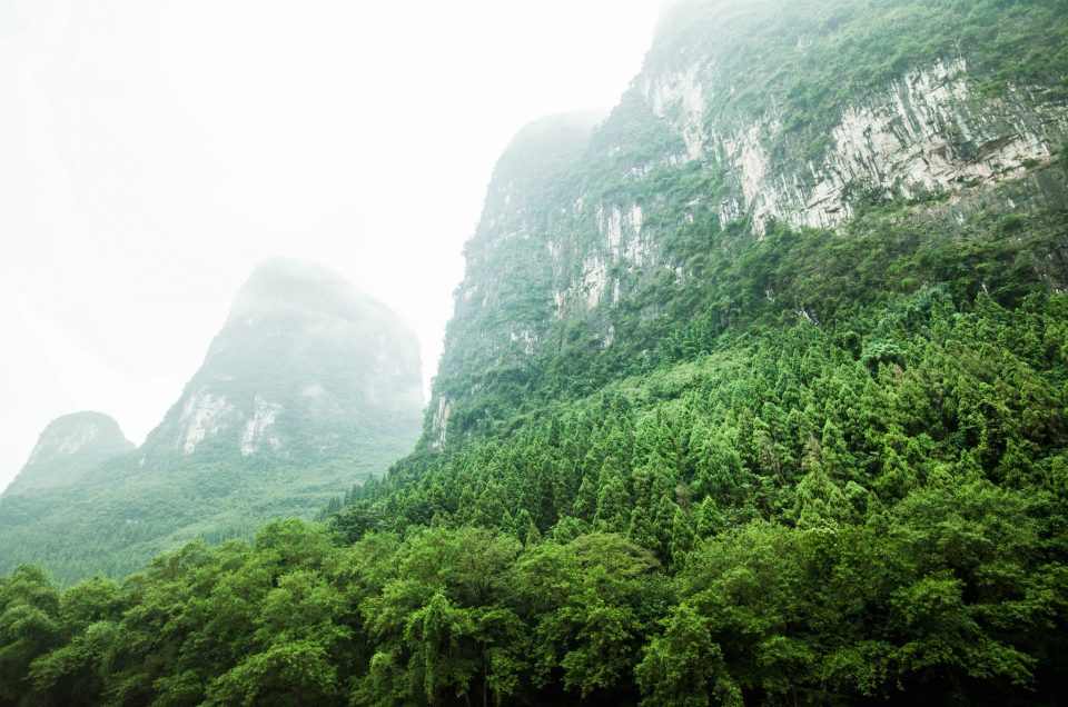 Guilin – Etelä-Kiinan kaunein kansallispuisto