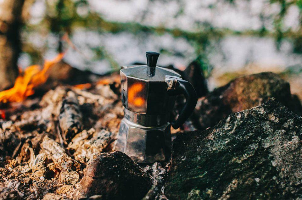 Kahvipannulla on asiaa