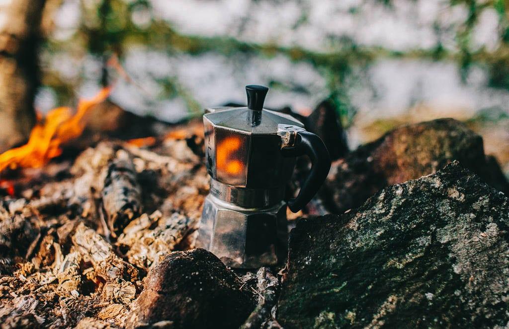 Retkeilyvarusteet - Kahvipannulla on asiaa
