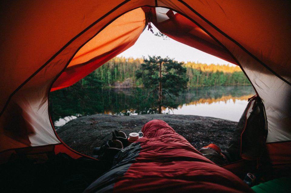 Ensimmäisen oman teltan ompeluprojekti