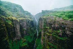 Islanti Iceland Glymur