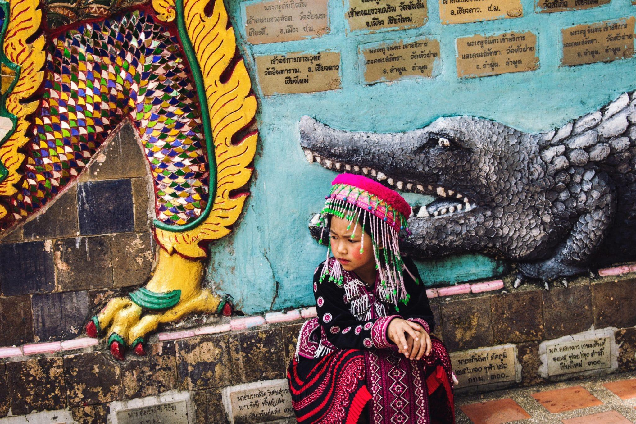 Budjettimatka - Kuukausi kierrellen Thaimaata