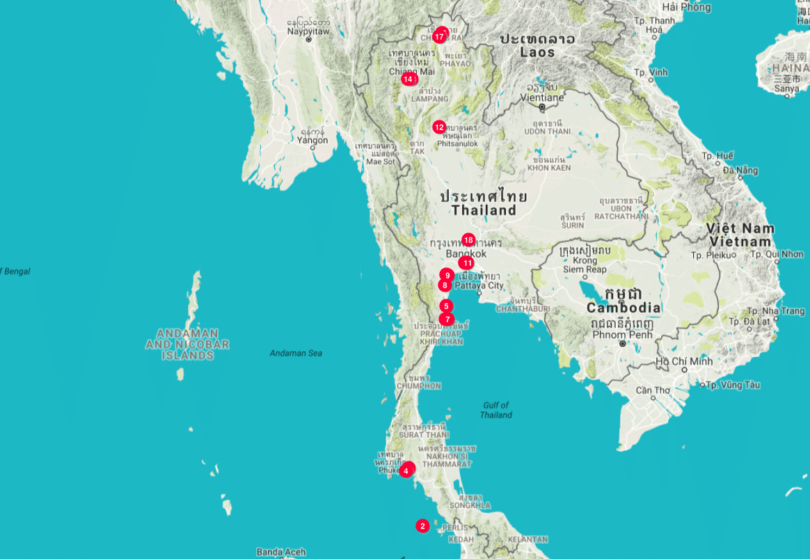 thaimaa matkablogi