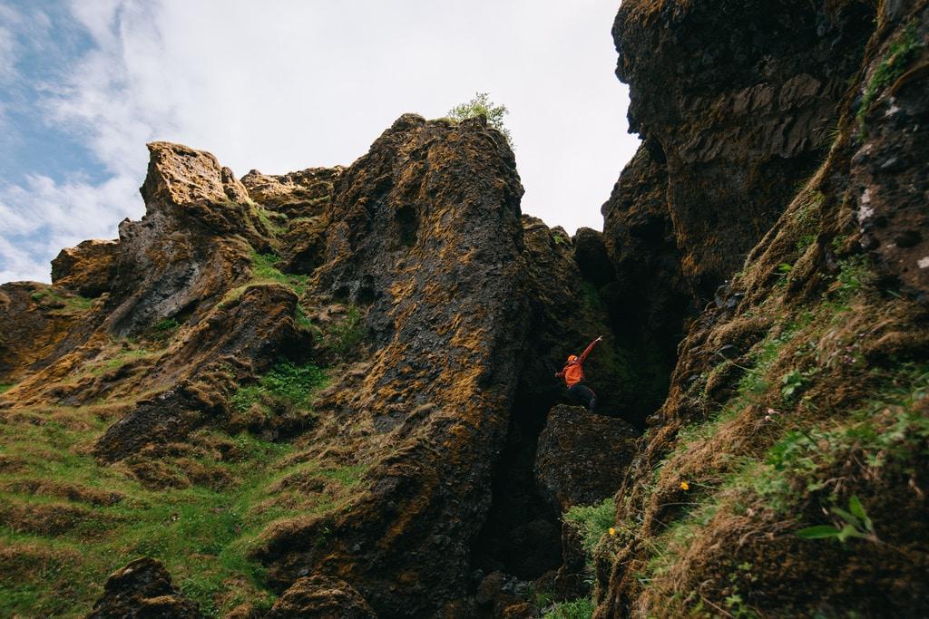 Islannin iäksi kivettynyt aromammutti