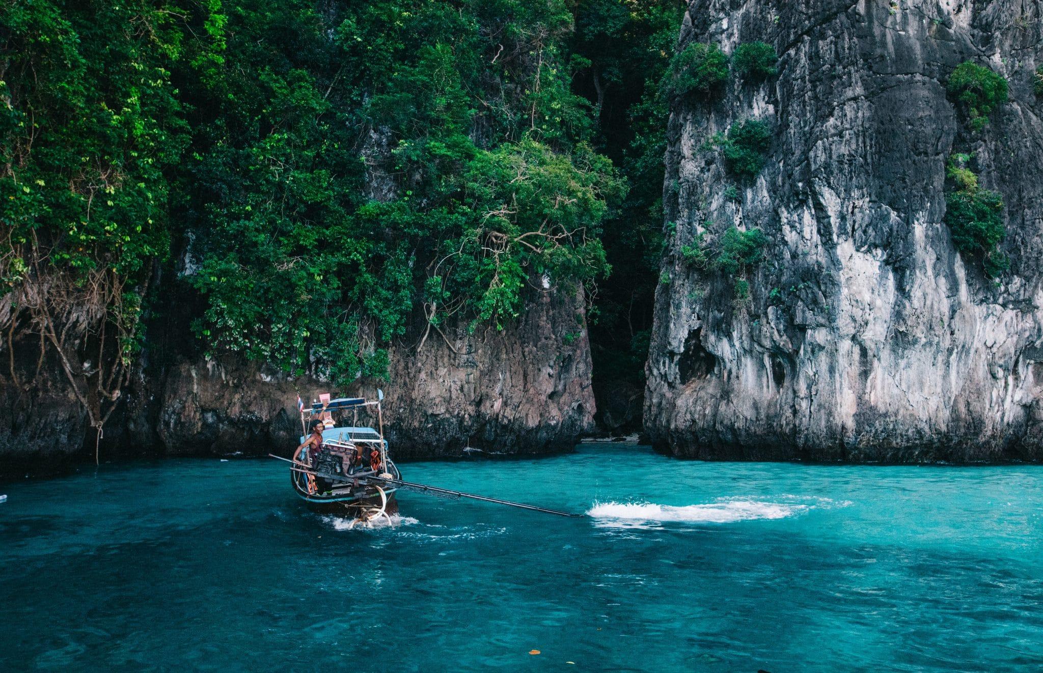Thaimaa - Postikortteja Krabin saarilta
