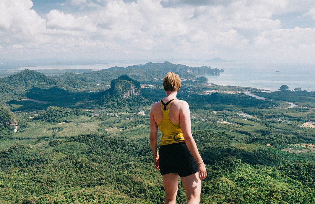 Krabin kansallispuisto - Hang Nakin huiputus