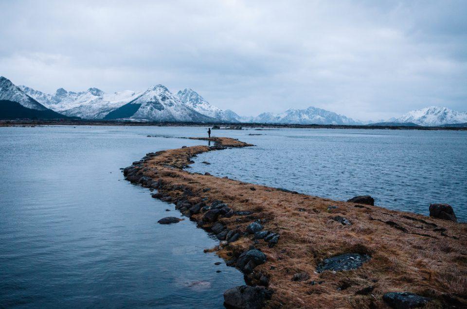 Omavaraiselämän opiskelua Gisløyn saarella