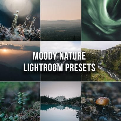 Moody Nature Lightroom Presets