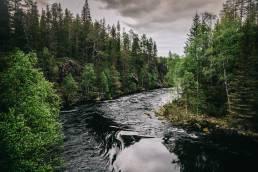 Niskakoski Kuusamo Oulangan kansallispuisto
