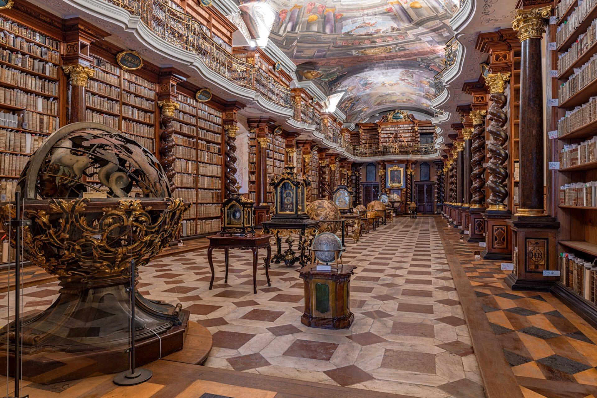 maailman kauneimmat kirjastot