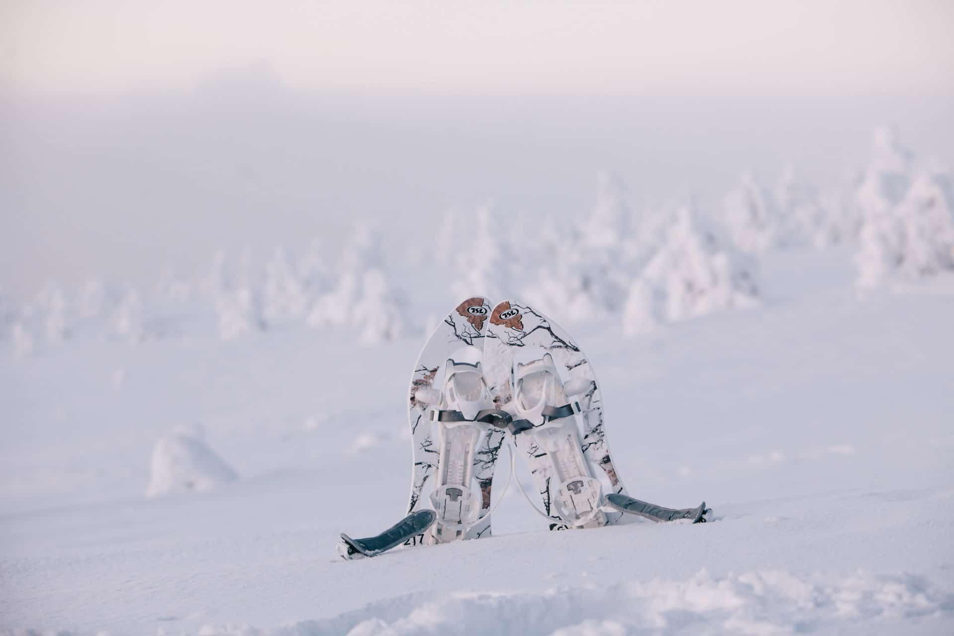 Lumikengät lumikenkäily