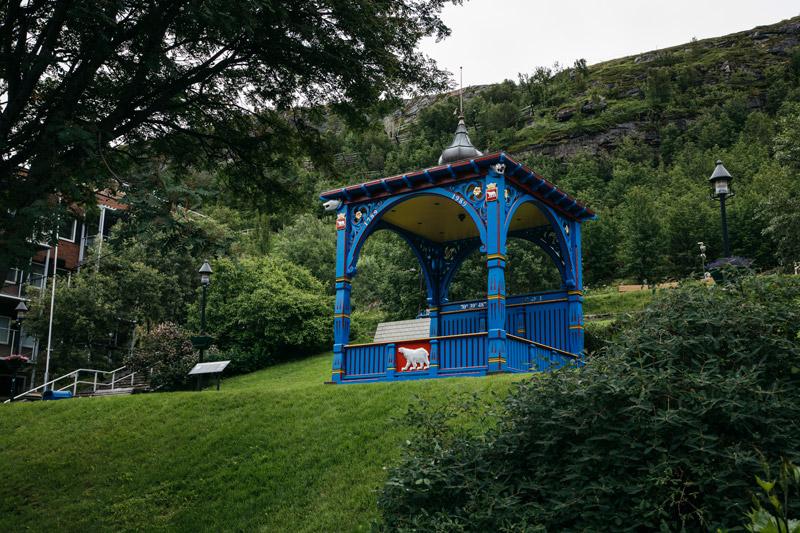 Sininen paviljonki Hammerfest