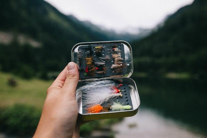 kalastus Norjan tuntureilla