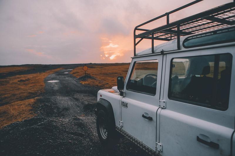 vuokra-auto Reykjavikista